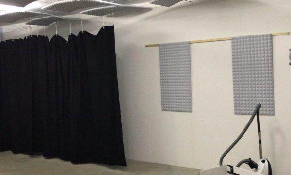 Akkustik Vorhang